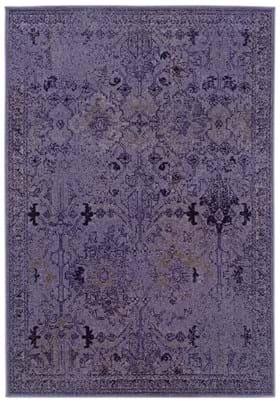 Oriental Weavers 8023M Purple Grey