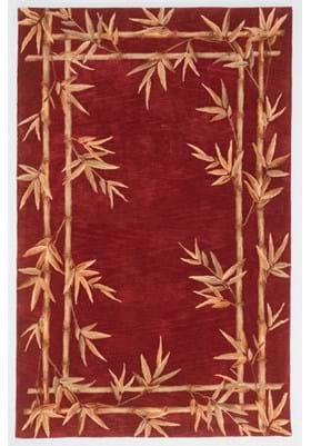 KAS Bamboo Double Border 3145 Red