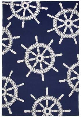 Trans Ocean Ship Wheel 145633 Navy