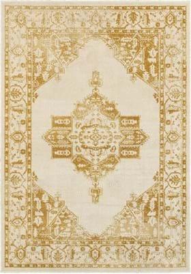 Oriental Weavers 7370H Ivory Gold