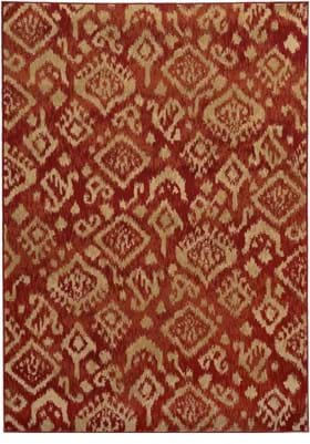 Oriental Weavers 5113D Red Beige