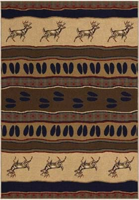 Orian Rugs Whitetail 2615 Parchment