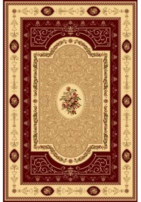 Rugs America 1365 French Aubusson Cherry
