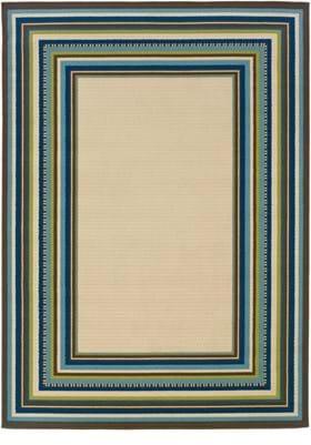 Oriental Weavers 1003X Ivory Blue