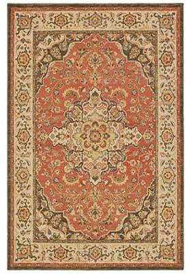 Oriental Weavers 9551 B Orange Ivory