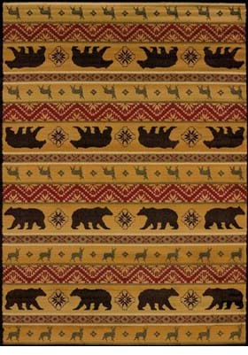 United Weavers 750-03353 Nordic Bear Spice
