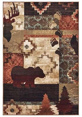 Oriental Weavers 9649A Multi