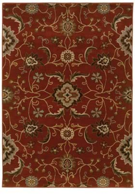 Oriental Weavers 4471B Rust