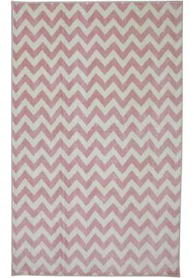 American Rug Craftsmen Fun Lines 12011 Pink 419