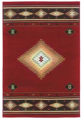 Oriental Weavers 087K1 Red