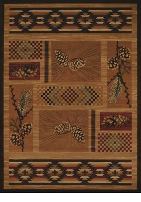 United Weavers 750-05053 El Paso Pine Spice
