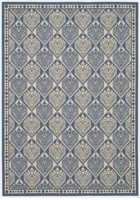 Safavieh CY5149C Blue Ivory