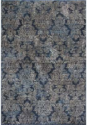 KAS Damask 8611 Slate Blue