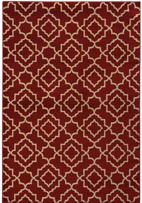 Oriental Weavers 5185E Red Beige