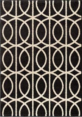 Orian Rugs Novak 4323 Black