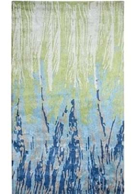 Dynamic Rugs 881001 154 Blue Green