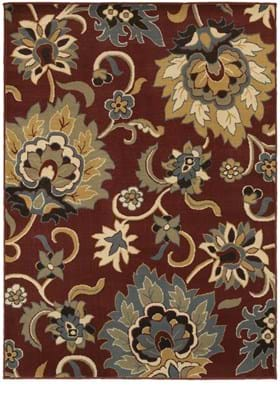 Oriental Weavers 6034C Red Gold