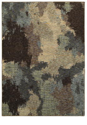 Oriental Weavers 8011B Blue Brown