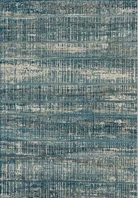 Dynamic Rugs 89586 2989 Blue Silver