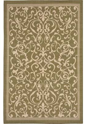 Trans Ocean Scroll Vine 179476 Green