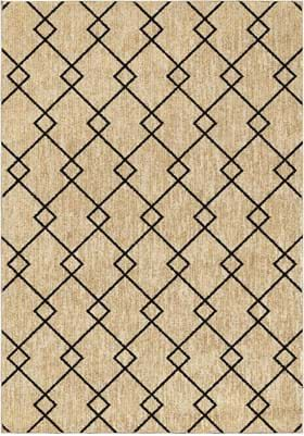 Orian Rugs 4416 Criss Cross Off White