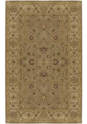 Surya CRN - 6010 Beige and Dark Tan