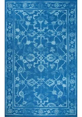 Dynamic Rugs 88802 591 Dark Blue Light Blue