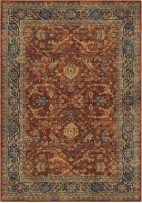 Orian Rugs 4503 Ankara Red