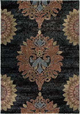 Orian Rugs Jacqueline 1611 Steel