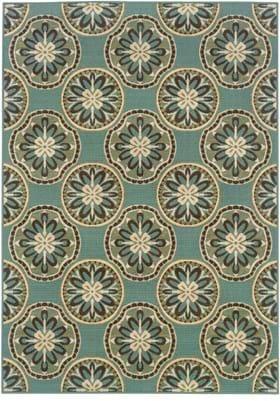 Oriental Weavers 8323L Blue