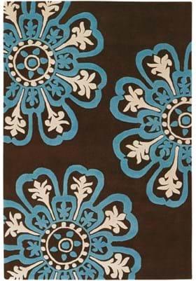 Chandra SEE-18201 Brown Blue Cream