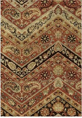 Orian Rugs Paisley Point 4318 Multi