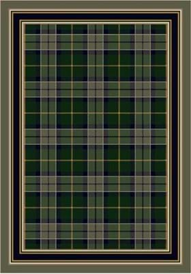 Milliken Magee Plaid 8473 Emerald 11006