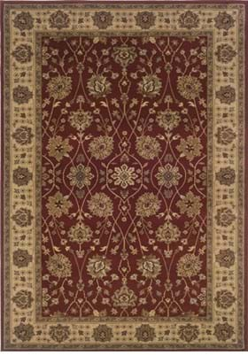 Oriental Weavers 733R Red Beige
