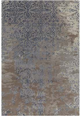 Chandra RUP-39626 Grey Blue Brown