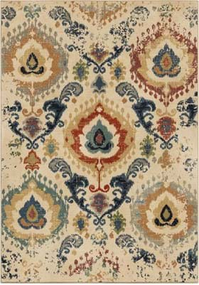 Orian Rugs 4519 Distressed Trinidad Multi