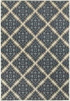 Oriental Weavers 7816B Ivory Blue