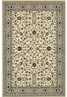 Karastan Kismet Ivory Black 33014