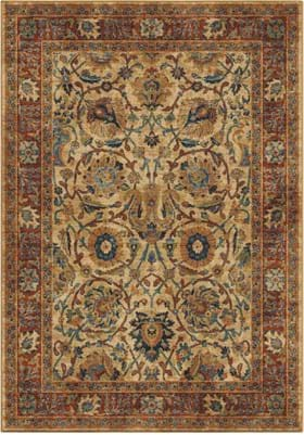 Orian Rugs 4504 Persian Varse White