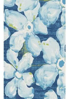 Dynamic Rugs 25418 954 Blue Grey