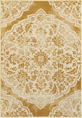 Oriental Weavers 7422F Gold Ivory