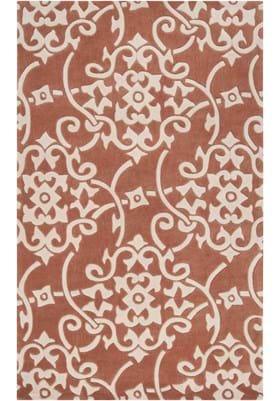 Surya COS-9050 Terracotta Parchment