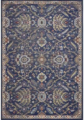 KAS Courtyard 7859 Royal Blue