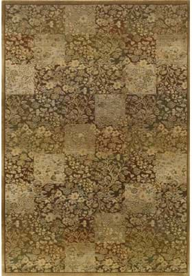 Oriental Weavers 3435Y Green Gold