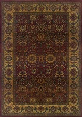Oriental Weavers 332C Red Gold