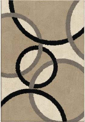 Orian Rugs Magic Rings 2422 Beige
