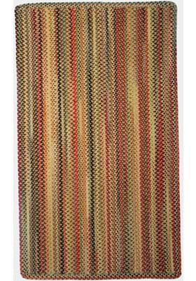 Capel Portland Gold Vertical Stripe Rectangle