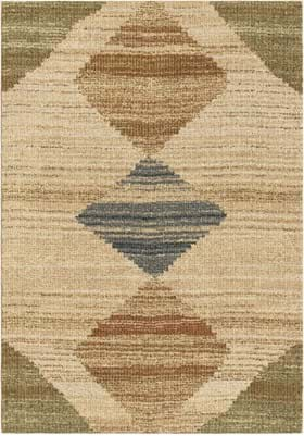 Orian Rugs 4405 Arabian Field Off White