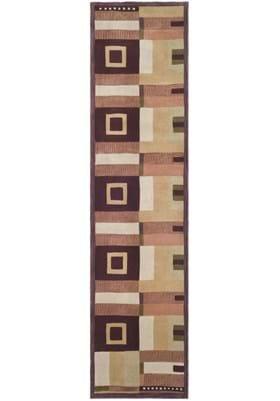 Safavieh RD609A Beige Rust Gold Plum