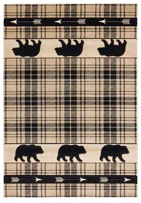 United Weavers 2055-41426 Tartan Bear Beige